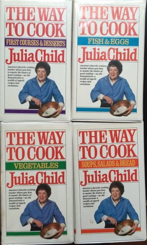 Julia Child The Way to Cook VHS Fish Egg Vegetable Soup Salad Bread 1st Course