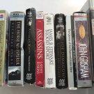 Audio Book  Mixed Lot 10 Cassette Bio NonFiction 2 Sealed Self Help Rice Grisham