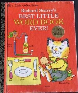 Best Little Word Book Ever! Scarry  Little Golden