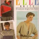 Elle Knits 50 Exclusive Designs from France Elle Magazine HC DJ