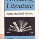 Professing Literature: An Institutional History PB 1989