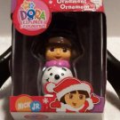 Christmas Dora the Explorer Ornament New Sealed Nick Jr Snowman 2006 Collectible