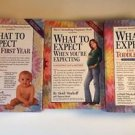 What To Expect When You're Expecting The First Toddler Years 3 Book Lot