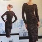 Vogue Sewing Pattern V1314 Dress Tracy Reese 6-14 New Uncut Designer