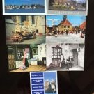 Holland Netherlands Postcards Lot 7 Map Attractions Volendam History Unused
