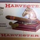 Antique Vintage Harvester Record Breaker Cigar Box 10 cents Horse US Blue Stamp