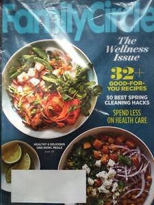 Family Circle Magazine March 2016 Wellness Issue
