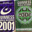 The Guinness Book of World Records 2 Books 2001 2002 Paperback Birth Year Gift