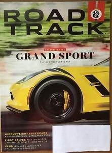 Road & Track Magazine New Vol 68 #2 September 2016 Grand Sport Best Corvette yet