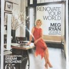 Architectural Digest Magazine New November 2016 Meg Ryan Cover