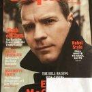Esquire Magazine New October 2016 Ewan McGregor Cover