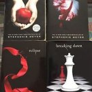 The Twilight Saga Books  1-4 Paperback Series Stephenie Meyer Moon Dawn Eclipse