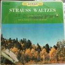 Vinyl Record Strauss Waltzes Al Samanda Concert Orchestra 33rpm