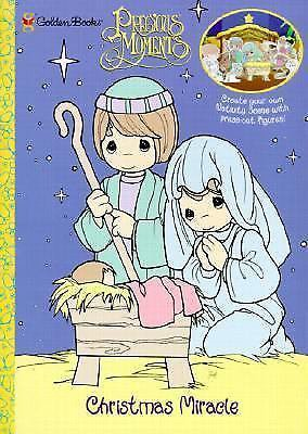 Precious Moments Christmas MiracleNew Gift  Punch & Play Book