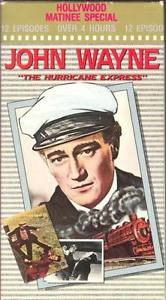 Hurricane Express VHS John Wayne Movie