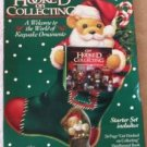 Hallmark Keepsake Ornaments Get Hooked on Collecting Set Book 1996 Ornament St..