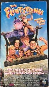 Flintstones VHS Movie 1994 Rosie O'Donald J Goodman
