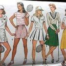 Butterick Sewing Pattern 6320 Skirts Tennis Bloomers Golf Pleats Short Size 16