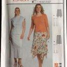 Burda Sewing Pattern 8378 Skirt Easy Straight Long Size 18-32 New Uncut