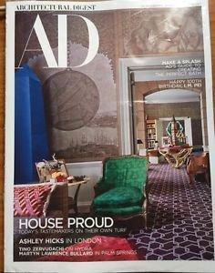Architectural Digest Magazine NEW April 2017 Ashley Hicks London