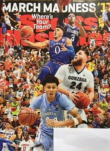 Sports Illustrated NEW March 20 2017 NCAA Final Four Villanova North Carolina ..