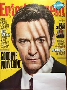 Entertainment Weekly Magazine NEW March 10 2017 Hugh Jackman Wolverine