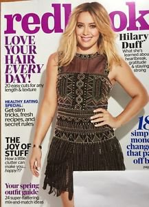 Redbook Magazine NEW April 2017 Hillary Duff