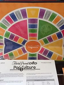 Trivial Pursuit Dvd Pop Culture 2nd Edition 2005 Game Sealed Parts Party
