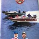 LUND Boats Brochure Catalog 1997 Al Lindner Gary Roach Mr Walleye Fishing Pro