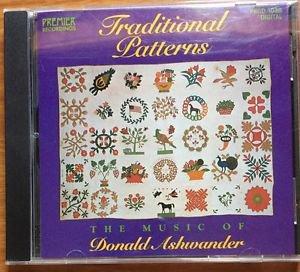 Traditional Patterns CD Music Donald Ashwander