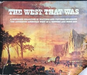 West That Was Hallmark HC DJ 1973 Pictures