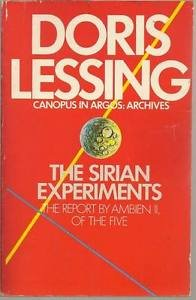 The Sirian Experiments Doris Lessing Canopus in Argos