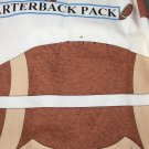 Football Backpack Panel Quarterback Child Sport Back Pack Uncut Fabric Sew Fall