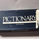 Pictionary Board Game 1st Ed 1985 Replacement Parts Piece Game Of Quick Draw
