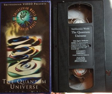 The Quantum Universe VHS Tape Smithsonian Movie