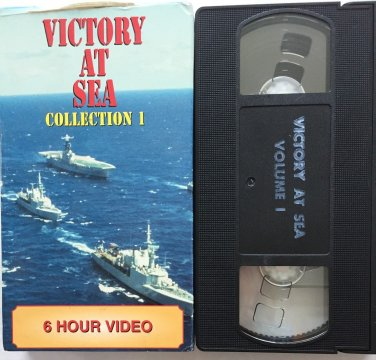 Victory At Sea Collection 1 Ships VHS Tape