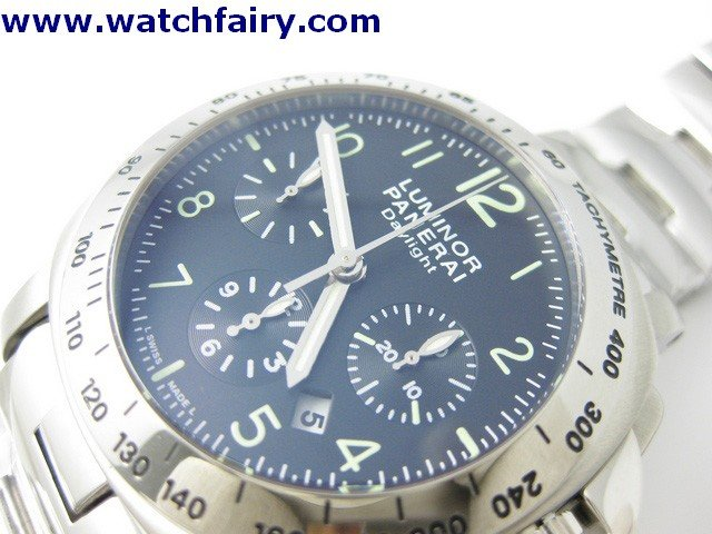 Panerai (PAM 00236) J Luminor Chronograph Daylight S/S PAN-01