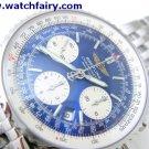 Breitling Chronometre Automatice Navitimer Mens Chronometre Wristwatch ETA 7750 BRE-05