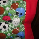 LETS PLAY BALL KIDS / TRAVEL PILLOWCASE
