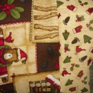 NEW CHRISTMAS KIDS TRAVEL PILLOWCASE DEBBIE MUMM PRINTS 1