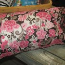 Diva Pinks and Browns Kids/Travel Pillowcase