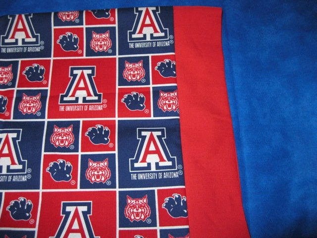 Team Sports Travel/Kids Pillowcase U OF A ARIZONA