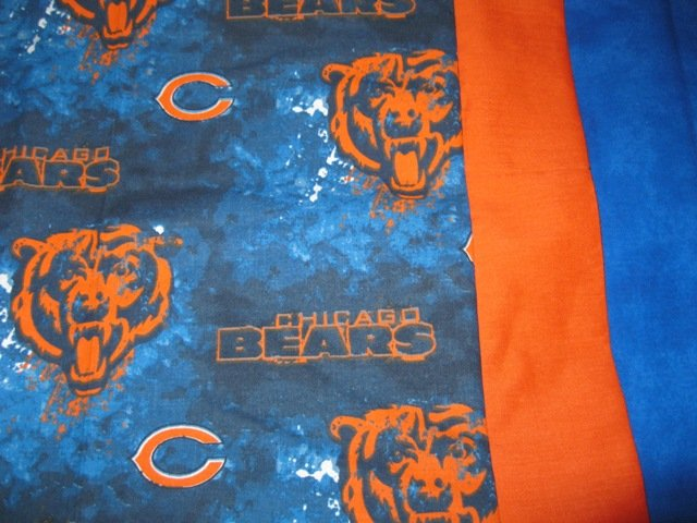 Team Sports Travel/Kids Pillowcase Chicago Bears