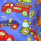 NEW Fire Truck and More MINI Pillowcase kids/travel pillowcase