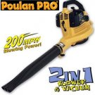 Poulan Pro Super Blower and Vacuum