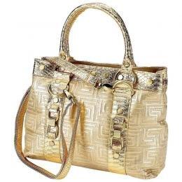 Gigi Chantal Gold Shoulder Bag