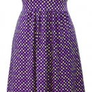 Polka Dot Dress - Purple