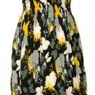Strapless Dress - Yellow