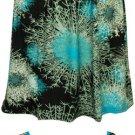 Criss Cross Turquoise Print Dress