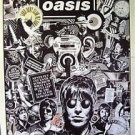 Oasis very busy matte POSTER 23.5 x 34 British rock group Noel Liam Gallagher